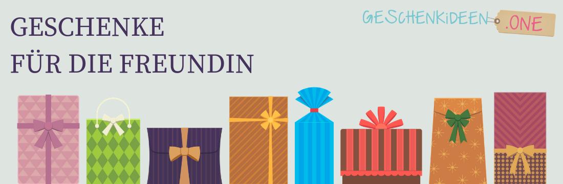 Die 19 Besten Geschenke Für Die Freundin Geschenkideen One